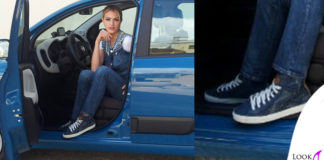 Sofia Bruscoli scarpe Geox
