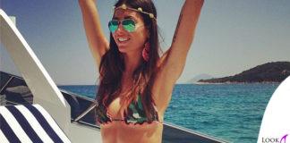 Elisabetta Gregoraci bikini F..K