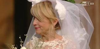 Luciana Littizzetto Sanremo 2014 fascinator Kreisicouture