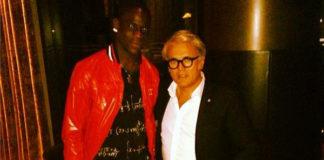 Mario Balotelli sneakers Giuseppe Zanotti