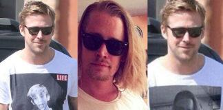 Ryan Gosling Macaulay Culkin tshirt Worn By