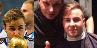 Mario Goetze Mondiali 2014 Germania Argentina parrucchiere Vetere L'Arte