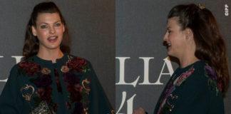 Linda Evangelista Vogue 50 total look Dolce Gabbana