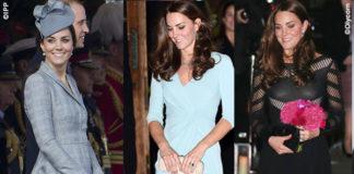 Kate Middleton abito Alexander McQueen abito Jenny Packham abito Temperley London