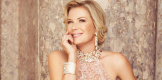 Katherine Kelly Lang abito Impero Couture