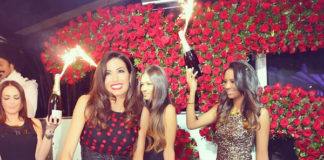 Elisabetta Gregoraci 35 Compleanno Twiga abito Dolce & Gabbana 2