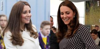Kate Middleton Portsmouth cappotto Max Mara abito Alice Temperley scarpe Jimmy Choo