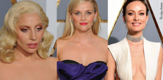 Oscar 2016 peggiori decollete Lady Gaga Reese Witherspoon Olivia Wilde Sarah Shahi