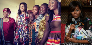 Michelle Obama in Africa
