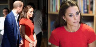 Kate Middleton abito e clutch LK Bennett pump Gianvito Rossi orecchini Kiki McDonough