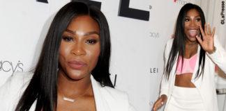 Serena Williams reggiseno Berlei tailleur Jonathan Simkhai