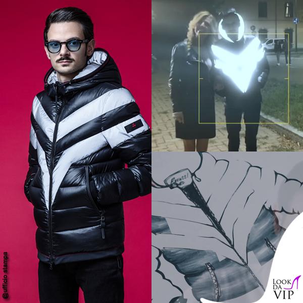 Fabio Rovazzi video giacca Peuterey Reflector Jacket