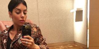 Georgina Rodriguez pigiama Louis Vuitton