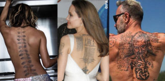 trend tatuaggi sulla schiena