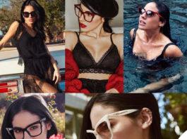 Giulia De Lellis occhiali Blumarine