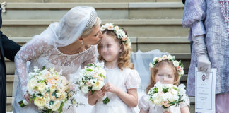 Royal Wedding Lady Gabriella Windsor in Luisa Beccaria e Thomas Kingston