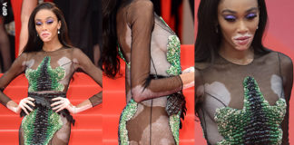 Winnie Harlow Cannes 2019 abito Ralph and Russo 1