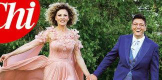 matrimonio Eva Grimaldi Imma Battaglia abiti da sposa Enzo Miccio