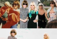 Anna Wintour e Donatella Versace