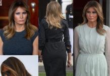 i capelli perfetti di Melania Trump