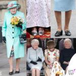 le scarpe della regina elisabetta