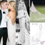 Justin Bieber e Hailey Baldwin: i dettagli dell'abito da sposa