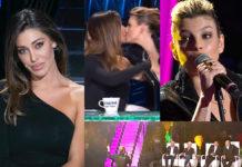 A Tu Si Que Vales Emma Marrone bacia Belen Rodriguez
