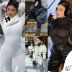 Kylie Jenner sexy e firmatissima in montagna